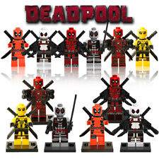 New Deadpool Wade Wilson Mini Figures Set Fit Lego From UK