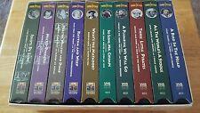 THE 3 STOOGES -NYUK'S X 10 VHS BOXED SET ( NEW)