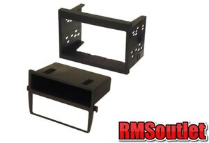 Porsche 911 996 Double Din Stereo Fitting Kit and AC heater relocation panel