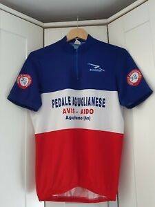 VINTAGE Runners Cycle Jersey  - Size - Medium