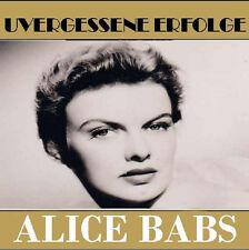 CD Alice Babs Inoubliable Succès incl Duo avec Paul Kuhn
