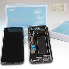 100% Original Samsung Galaxy S8 G950F LCD Display Screen schwarz black Rahmen
