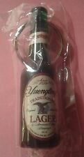 YUENGLING TRADITIONAL LAGER Beer Bottle Opener & Keychain NIB NEW !!!