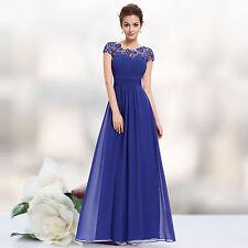 Bridesmaids' Unbranded Chiffon Cap Sleeve & Formal Dresses