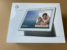 "NEW Google Nest Hub Max 10"" Voice-Activated Touchscreen Smart Assistant CHARCOAL"