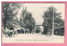 CPA  -  PARIS  - 75 -  RUE D'ALESIA -   ATTELAGE