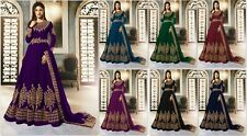 Indian Pakistani Ethnic Anarkali Salwar Kameez New Designer Suit Bollywood FM