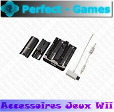 station de charge batteries dock charging NINTENDO Wii noir manette wiimote