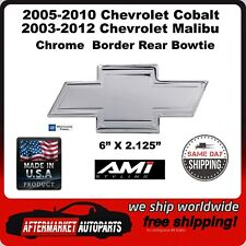 2005-2010 Chevrolet Cobalt Chrome Bordered Aluminum Bowtie Rear Emblem 96140C