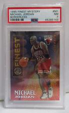 Michael Jordan 1995 Finest Mystery Borderless Card # M1 Graded PSA 7 NEAR MINT