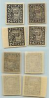 Russia RSFSR ☭ 1922 SC 201 mint different shades and paper . rta9711