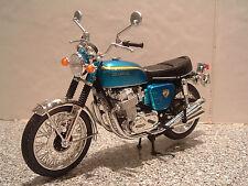 1:12 Honda CB750 Super Four K K0 K1 K2 modelo de calidad fantástica Candy Azul Verde