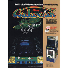 Galaxian Free play and High Score Save Kit Arcade