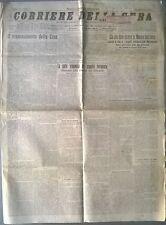 CORRIERE DELLA SERA DEL 1911 - CIO' CHE DEVE ESSERE LA MARINA AUSTRIACA - 558