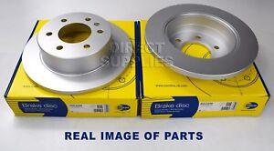 2X REAR AXLE BRAKE DISC MERCEDES BENZ 3,5-t 3-t 4,6-t 5-t VW CRAFTER 30-35 30-50