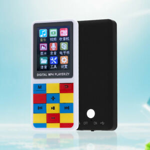 """New 1.8"""" LCD Screen Colorful Space MP4 Player Video Game Movie Radio FM MP4 MP3"""