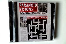 PARANOID VISIONS cryptic crosswords CD SEALED anarcho punk crass