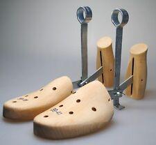 3x Schuhspanner Schuhstrecker aus Holz - Größe 39 / 40 / 41 Schuh Spanner