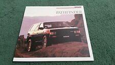 1988 Nissan Pathfinder SE & Xe-LARGE USA brochure TERRANO