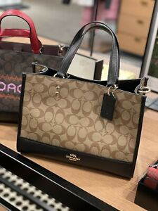 NWT COACH Dempsey Carryall In Signature Canvas $378
