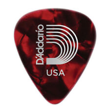12 plettri D'Addario Planet Waves chitarra 1.00mm Duri Heavy Rosso Celluloide