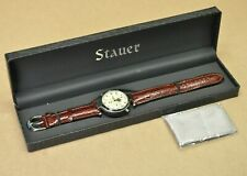 Stauer Graves 5ATM Automatic Watch Mens Multi Function Sun Moon Phase Wristwatch