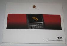 Betriebsanleitung / Owner´s Manual Porsche PCM Radio CD TV Navi, Stand 07/2012
