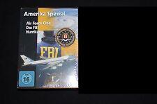 Amerika Spezial (Air Force One - FBI - Hurrikan) - 3 DVD Box / Neu / OVP