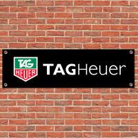 Tag Heuer Motorsport Sport Car Track Racing Sign Garage Workshop Banner Display