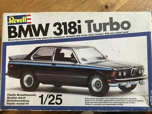 Vintage Revell BMW 318i Turbo 1/25 Scale H-7214 New