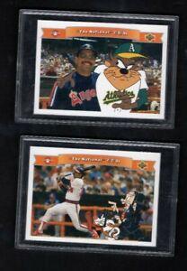 1991 Lot 2 Upper Deck Baseball Looney Tunes Comic Ball 2 REGGIE JACKSON Cards
