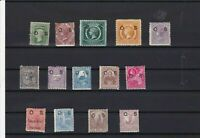 AUSTRALIA STAMPS , NEW SOUTH WALES O S OVERPRINTS MOUNTED MINT    R 2282