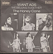 "The Honey Cone - Want ADS - 7""Single"