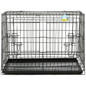 ME & MY LARGE SLOPED CAR BOOT CAGE/CRATE/CARRIER TRANSPORT DOG/PUPPY PET 2 DOOR