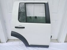 ♻️ 05 06 07 08 09 LAND ROVER LR3 REAR RIGHT PASS. SIDE EXTERIOR DOOR WHITE OEM