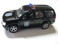 WELLY 1:38 SCALE 2008 CHEVY TAHOE GM POLICE VEHICLE DIECAST TRUCK PULLBACK
