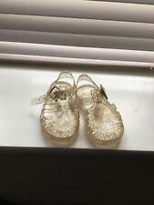 Mothercare Gold sparkle sandals size infant 3