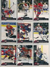 2001-02 Pacific Retail LTD Montreal Canadiens Team Set (13) Theodore Etc/149