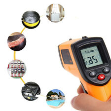 Infrared Thermometer Digital Pyrometer IR Non Contact Temperature Laser Gun 330℃