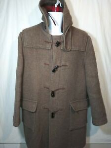 Vintage Gloverall Duffle Coat Made In England Size 40