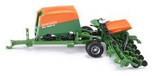 Siku 2275 Amazone Saehmaschine Remorque Agriculture Véhicule Modèle Tracteur