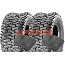 18x850-8 18x8.50-8 Ride On Lawn Mower Tractor Turf  PAIR TYRES & TUBES Free Post