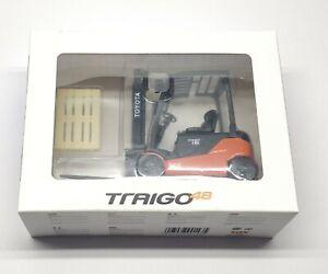 Traigo 48 Miniature | Toyota 4 Wheel Forklift Truck | 1:23 Scale
