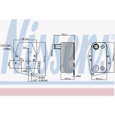 Nissens Ölkühler, Motoröl Mercedes-Benz Sprinter 2-T,Sprinter 90618