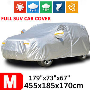 Full SUV Car Cover Waterproof Sun UV Snow Dust Rain Scratch Resistant Protection