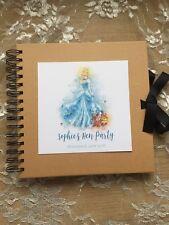 Personalised Hen Party Kraft Scrapbook - Disney Cinderella