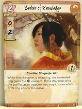 Legend of the five rings LCG - 1x #171 Seeker of Knowledge-Base Set