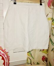 Ladies' Couture MILLY of New York White Skirt Size 2 EUC