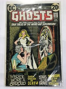 1973 DC Comics Ghosts True Tales Of The Supernatural #14 VF/NM