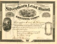 Silverthorn Lead Mining and Smelting Co. - Stock Certificate